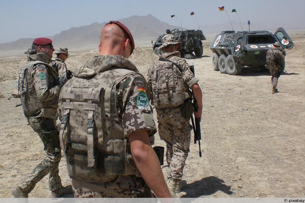 Soldaten im Auslandseinsatz