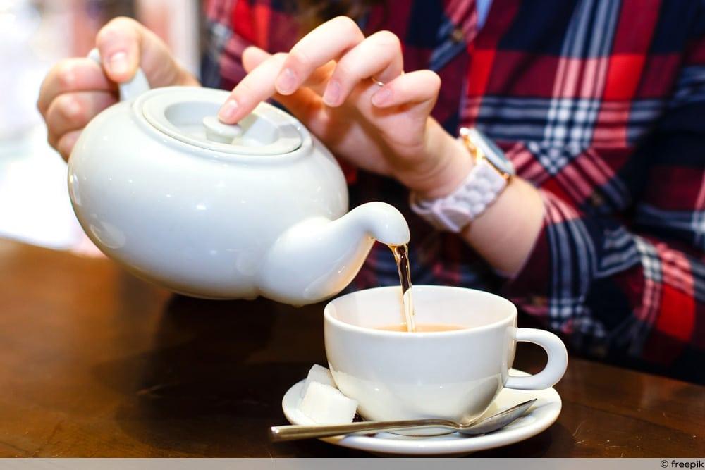 Tee zur Behandlung einer Ohrspeicheldrüsenentzündung