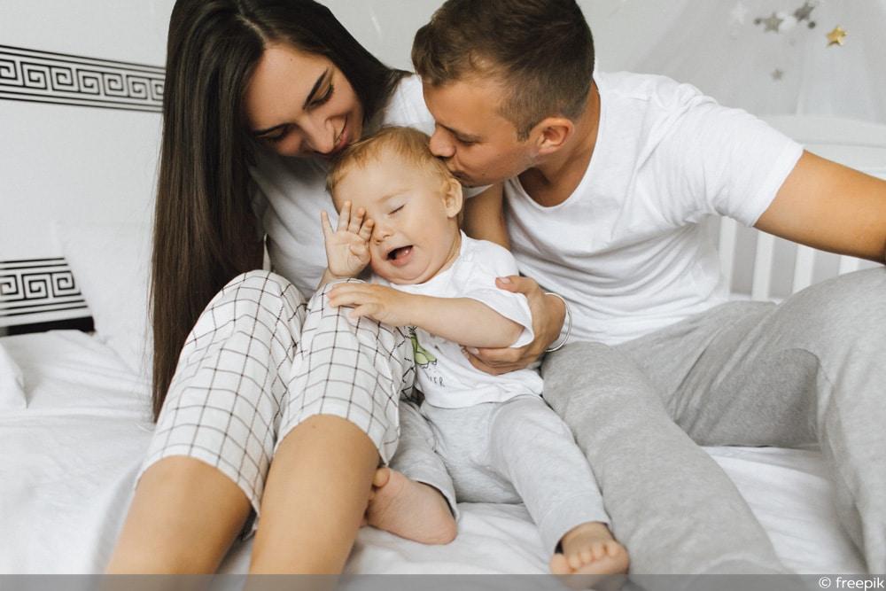 Eltern Baby Bett
