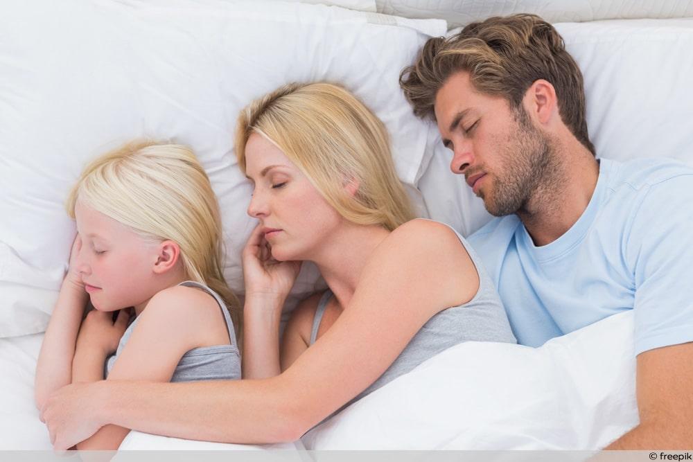 Kind Elternbett abgewöhnen