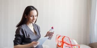 SSW 29 - Schwangere packt Klinktasche