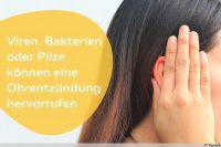 Ohrentzündung ansteckend