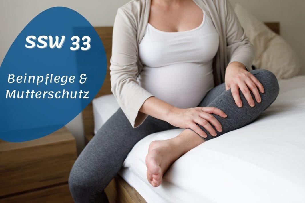 SSW 33 Schwangere mit Schmerzen im Beim