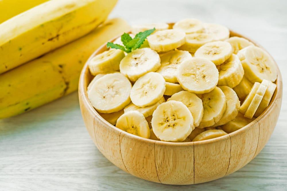 frisches Obst, Banane
