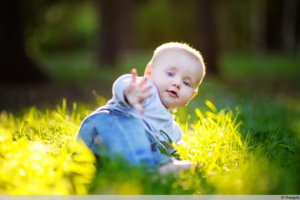 Baby Entwicklung mit 7 Monaten