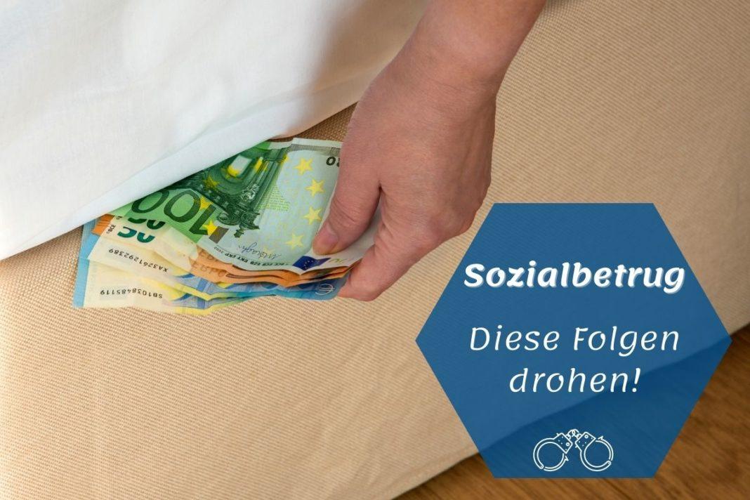ozialbetrug - Geldscheine unter Matratze